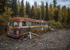 Покинуті автобуси на Алясці