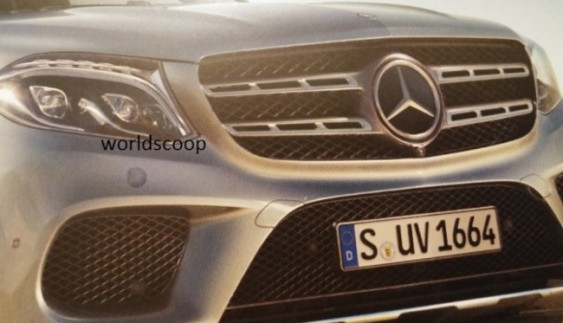 Фейсліфтовий Mercedes-Benz GL розсекречений достроково