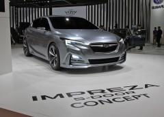 Subaru представила нову «Імпрезу» (фото)