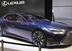 Продемонстрували новий флагманський седан Lexus