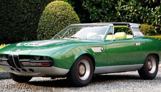 Унікальний і єдиний у своєму роді BMW Bertone Spicup (історія)