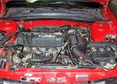 Робота двигуна з турбонаддувом