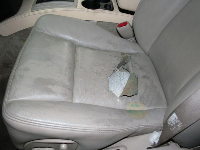 Замена обшивки сидений автомобиля