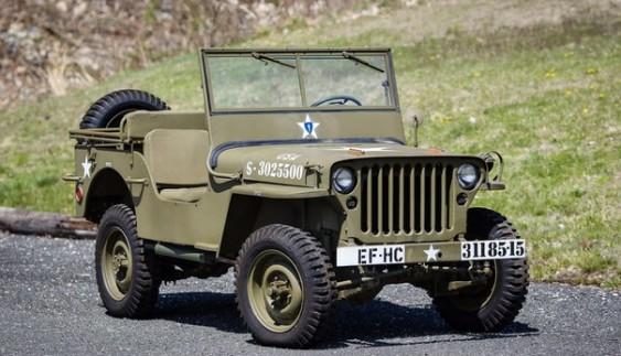 Willys MB – позашляховик 1940 року для армії США