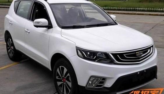 Новий компактний седан Geely Emgrand EC7 помічений в Китаї
