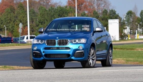 """Новий кросовер BMW X4  появився на """"живих"""" фото"""