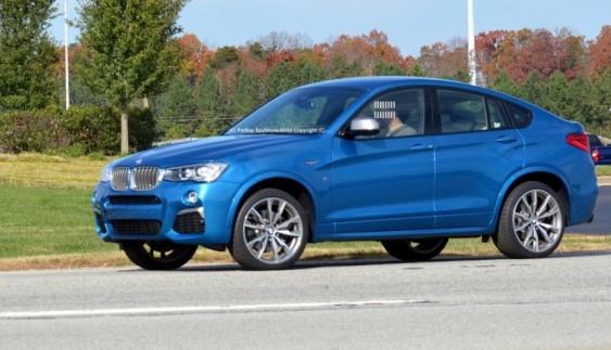 З'явилася інформація про BMW X4 нового покоління