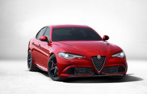 Рендер Alfa Romeo Giorgio Quadrifoglio з'явився в інтернеті