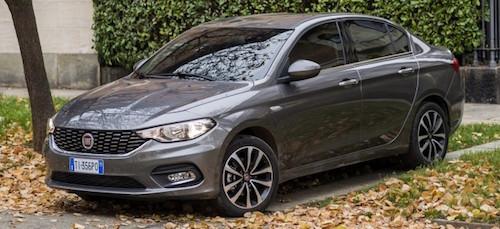 Fiat презентував новий компактний седан Tipo