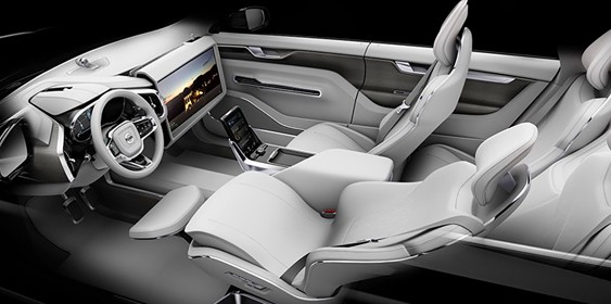 Volvo показала салон «машини часу»