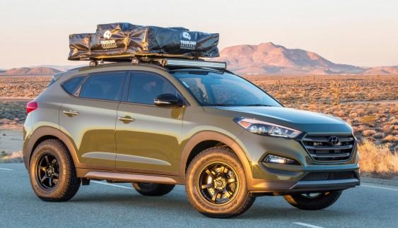 Hyundai презентував Tucson для активного відпочинку