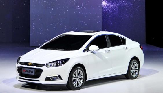 Chevrolet оголосив вартість седана Cruze 2016