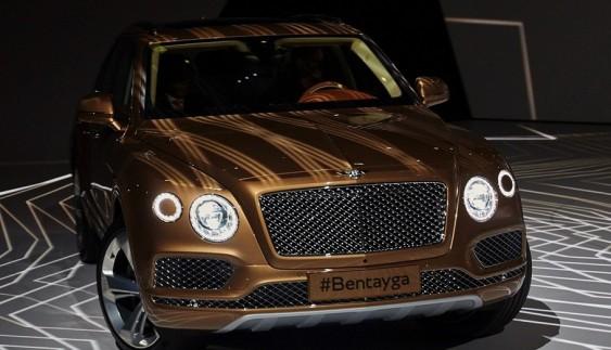 Bentley Bentayga перетвориться на крос-купе