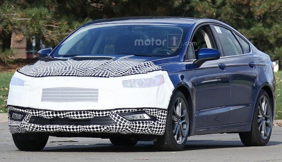 На тестах помічений оновлений Ford Mondeo (фото)