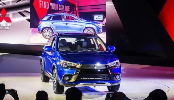 Mitsubishi ASX показали з новим дизайном (фото)