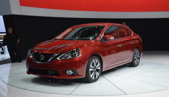 Оновлений седан Nissan Sentra показали в Лос-Анджелесі