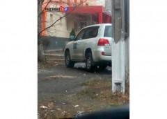 Паркування спостерігачів OБСЄ обурює українців (фото)