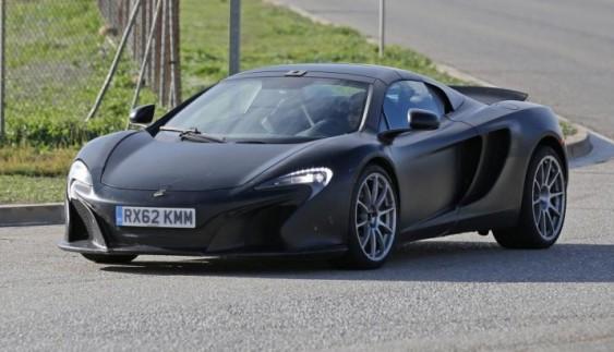 McLaren представить відкритий 675 LT Spider в наступному році