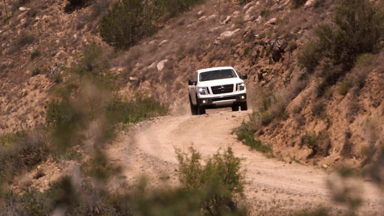 NASHVILLE, Tenn. (Nov. 24, 2015) – Nissan's Arizona Test Center engineering and R&D lab in Stanfield, Arizona has played a crucial role in the development of the all-new 2016 Nissan TITAN XD. A great off-road location, Montana Mountain, is located about two hours away from ATC in the Tonto National Forest.