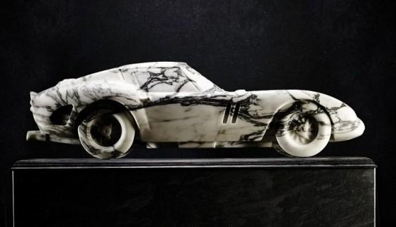 Показали найрозкішнішу Ferrari 250 GTO з мармуру (фото)