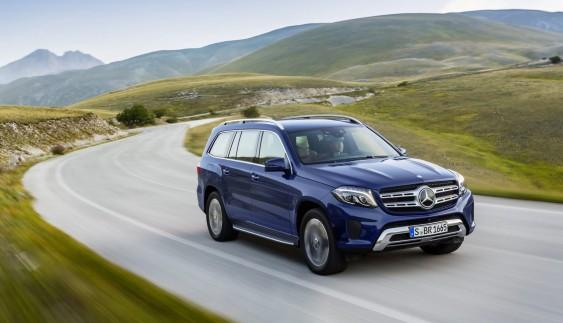 Mercedes-Benz представив свій найбільший позашляховик