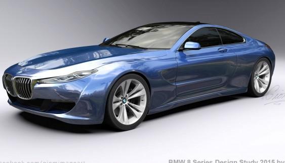 Показали вражаючий дизайн BMW 8-Series (фото)
