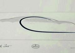 Перший тизер Bugatti Chiron для потенційних покупців