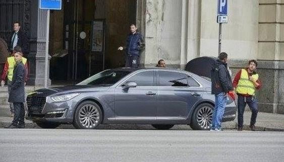 Новий флагман Hyundai помітили без камуфляжу (фото)