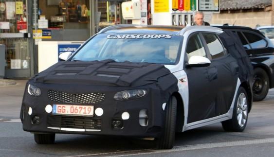 Нова Kia Optima була помічена під час тестів (фото)