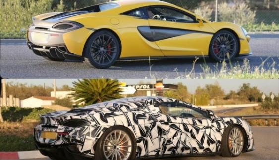 Новий суперкар McLaren попався під час тестів (фото)