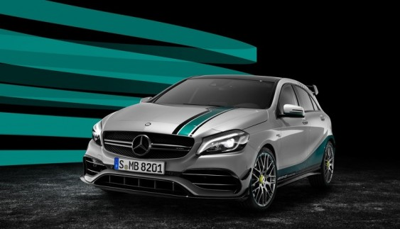 Mercedes-Benz  представила спеціальний випуск A45 AMG