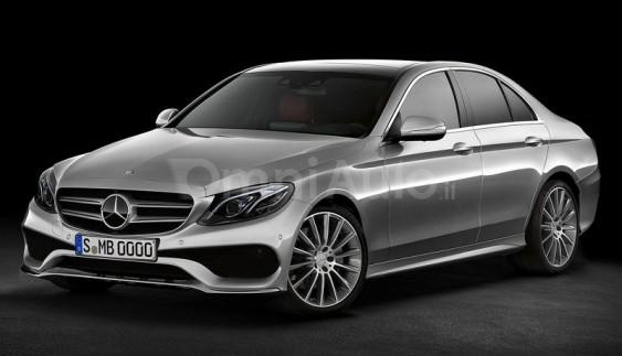Mercedes-Benz E-Class 2016 появився на рендерних зображеннях