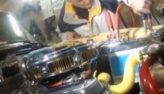 """Одесит вклав у старий """"Москвич"""" понад 100 тисяч доларів (відео)"""