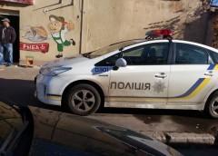 Шедевр паркування від одеських поліцейських (фото)