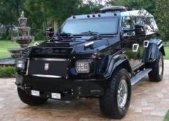 10 розкішних броньованих автомобілів
