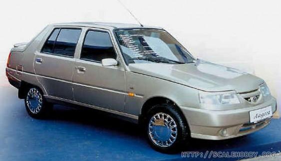 """ЗАЗ """"Ладога"""" запорізький автомобіль 21-го століття (фото)"""