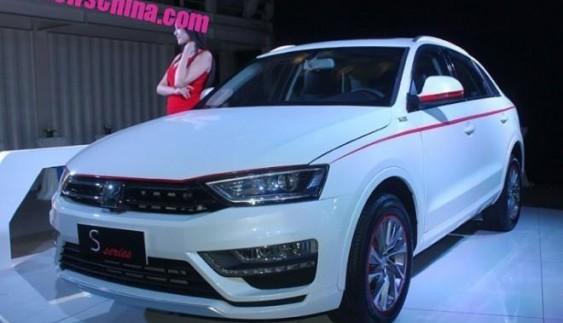 Презентували китайский клон Audi Q3