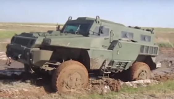 Перше відео з випробувань нового бронеавтомобіля «Арлан»