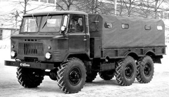 Подовжений дослідний вантажний автомобіль ГAЗ-34 і ГAЗ-63
