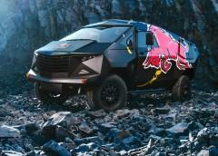 Суворий броньовик на базі Land Rove від компанії Red Bull