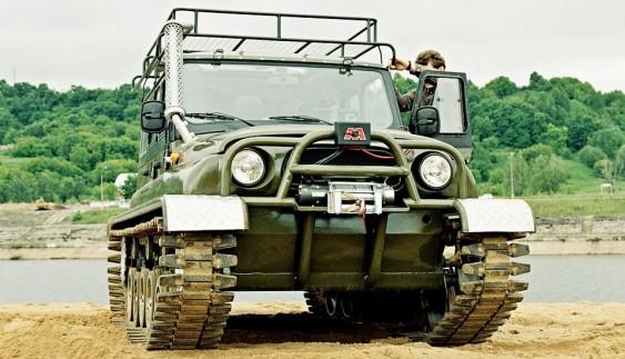 Незвичайні модифікації легендарного УАЗ-469