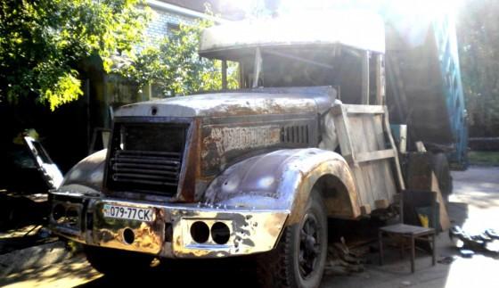 Неперевершений тюнінг вантажівки КрАЗ-256