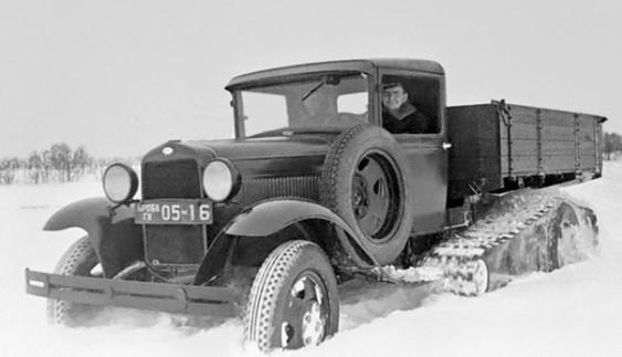 Радянський дослідний колісно-гусеничний автомобіль ГАЗ-65