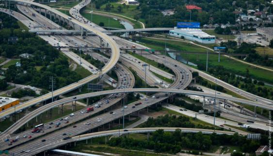 Як будують бетонні дороги в США
