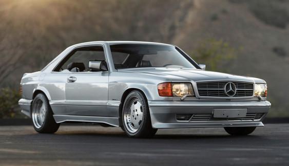 Рідкісний Mercedes-Benz з тюнінгом від AMG продадуть на аукціоні (фото)