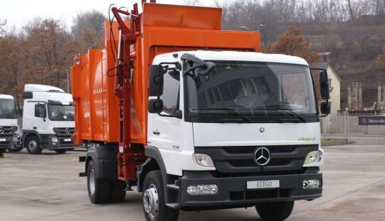 В Україні вивозитимуть сміття на Mercedes-Benz