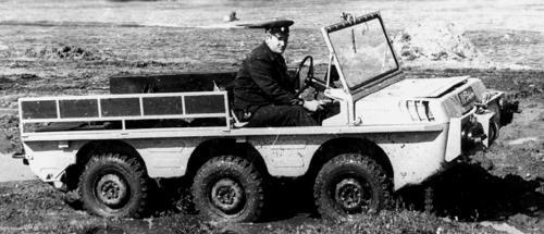 ЛуАЗ-972 – шестиколісний всюдихід Луцького заводу