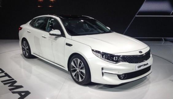 Оголошені цiни на нову Kia Optima 2015
