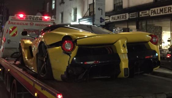 Розбили одне із найдорожчих і рідкісних авто у світі (фото)