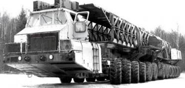 Унікальні автомобілі: МАЗ-7907- 24 ведучих колеса!